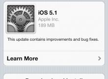 Update iOs OTA ผ่าน wifi