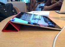 ทดสอบ Multitasking Gestures บน iPad2