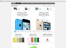 ราคา iPhone5c iPhone5s ที่ Apple Store HK